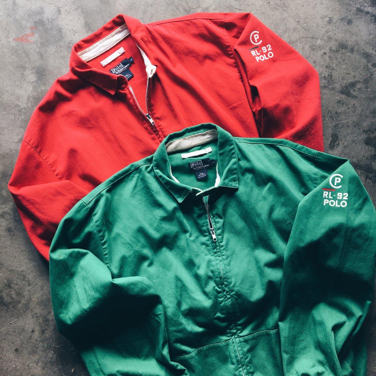 Image of Original 1992 Polo Ralph Lauren RL-92 Jackets.