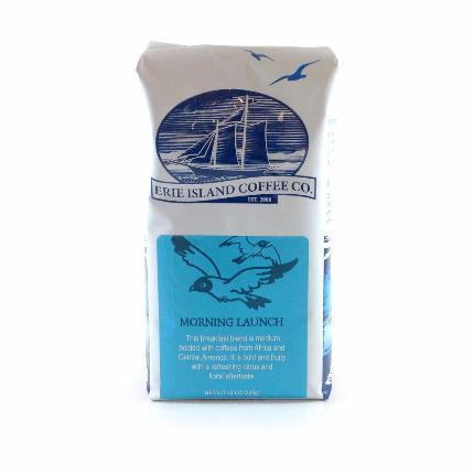 Image of Morning Launch, (MEDIUM ROAST)Ground Coffee- Erie Island Coffee Co.
