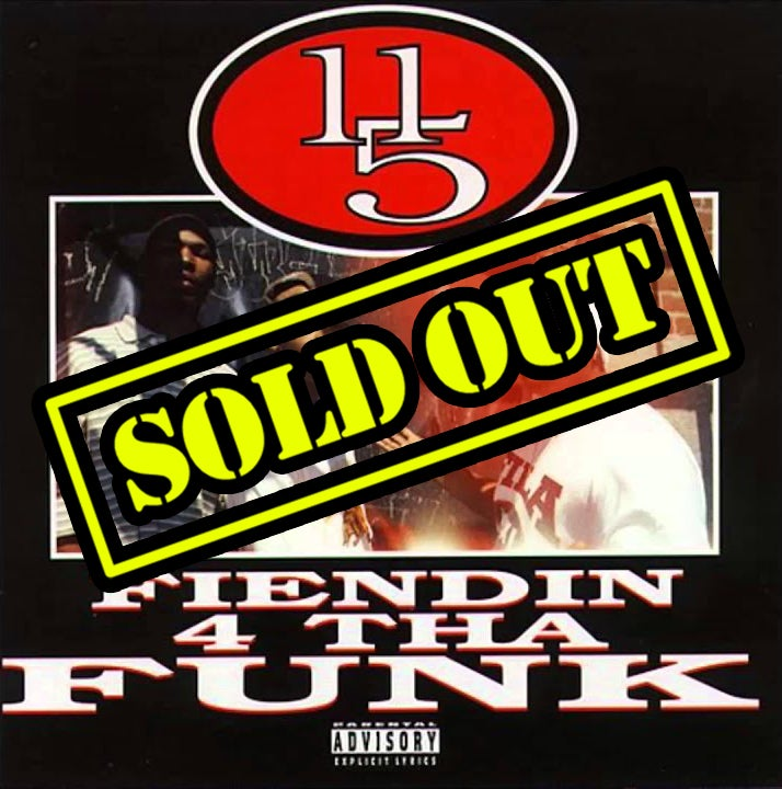 Image of 11/5 - Fiendin' 4 Tha Funk