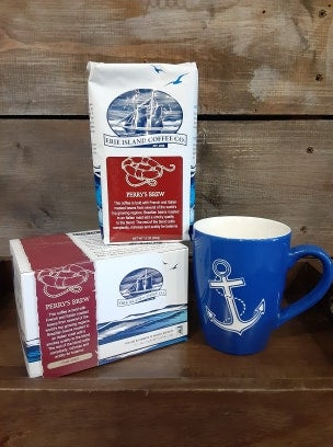 Image of Perry's Brew, (DARK ROAST) Ground Coffee- Erie Islands Coffee Co.