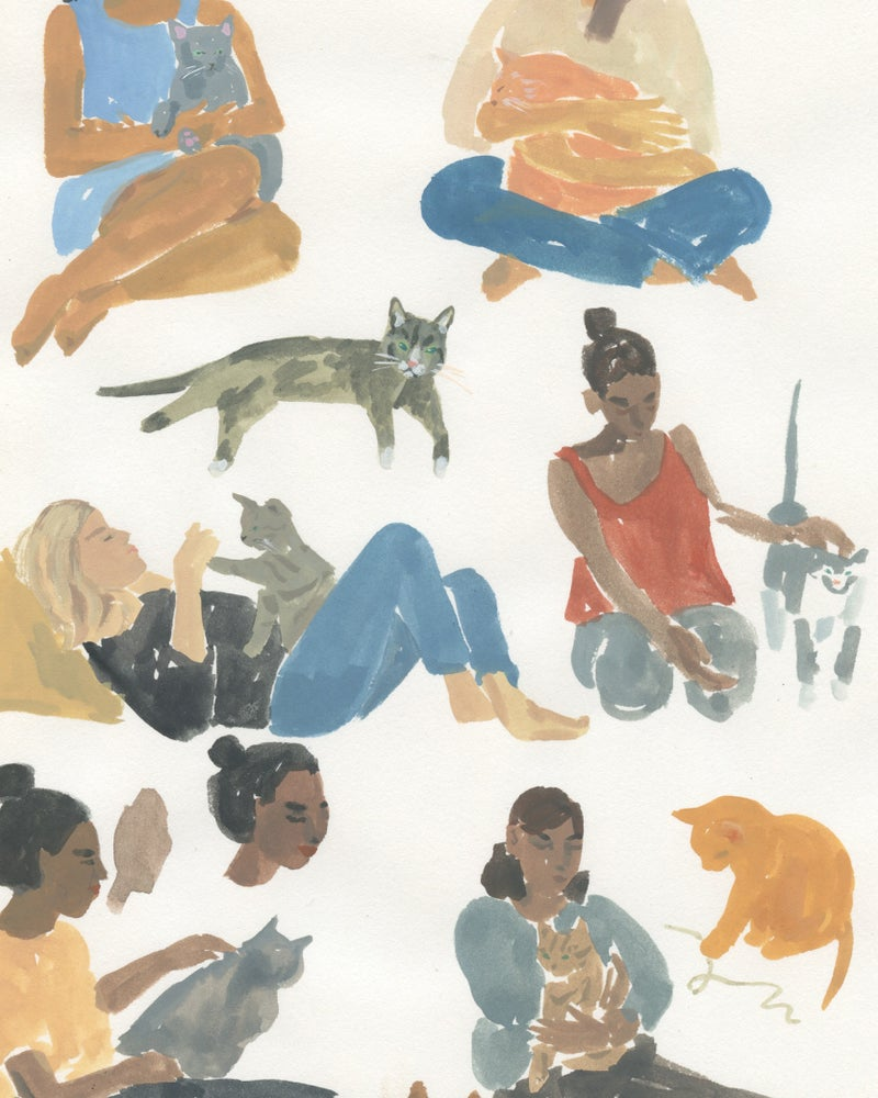 Image of Catladies Page - Catlady + OKC Benefit