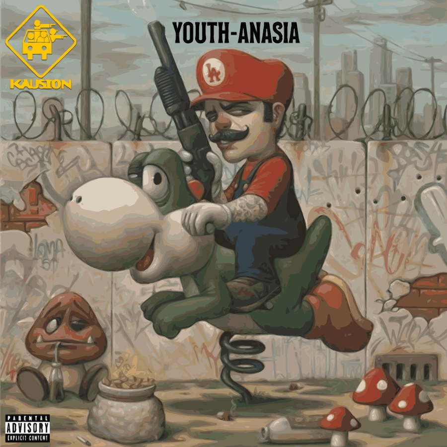 Image of KAUSION - YOUTH-ANASIA PRE-ORDER (VINYL)