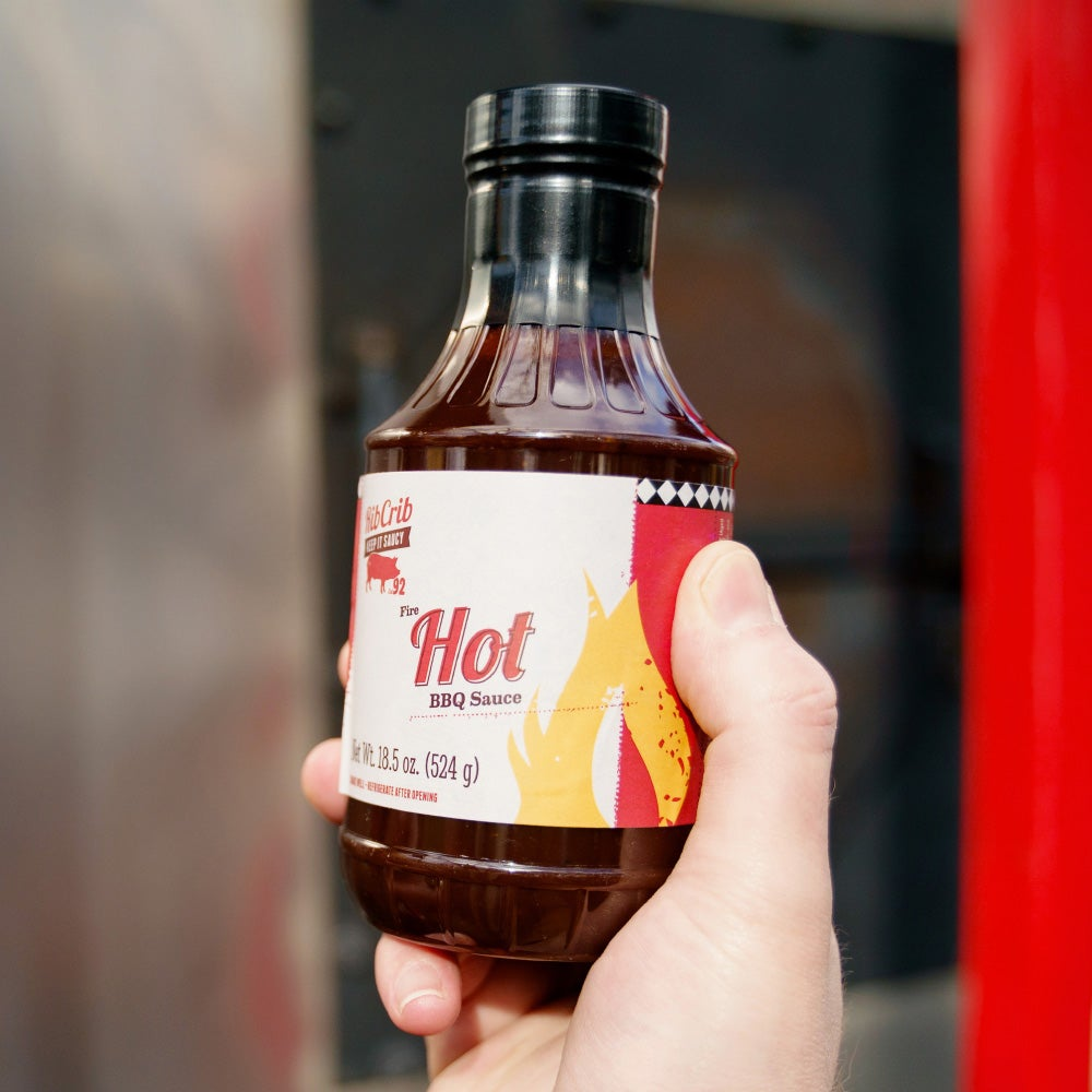 RibCrib Hot Barbecue Sauce