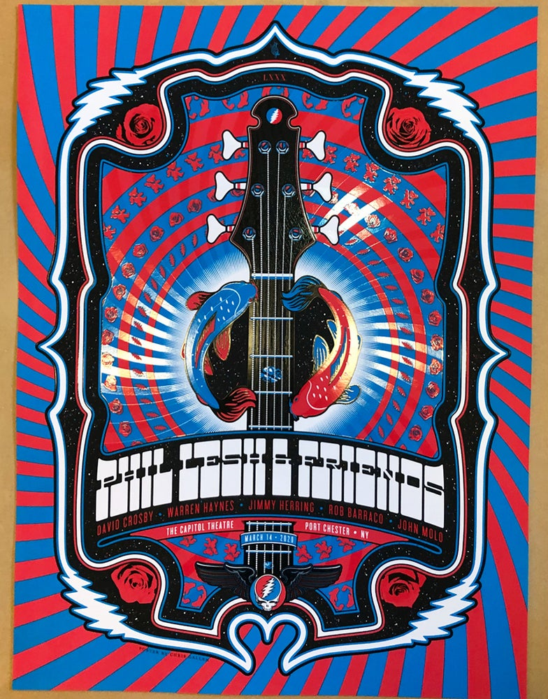 Image of Phil Lesh & Friends - 3/14/20 Capitol Theatre Poster