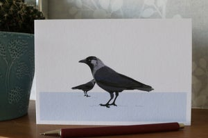 Image of The Western Jackdaw Greeting Card