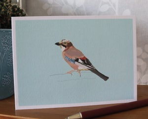 Image of Jay Greeting Card