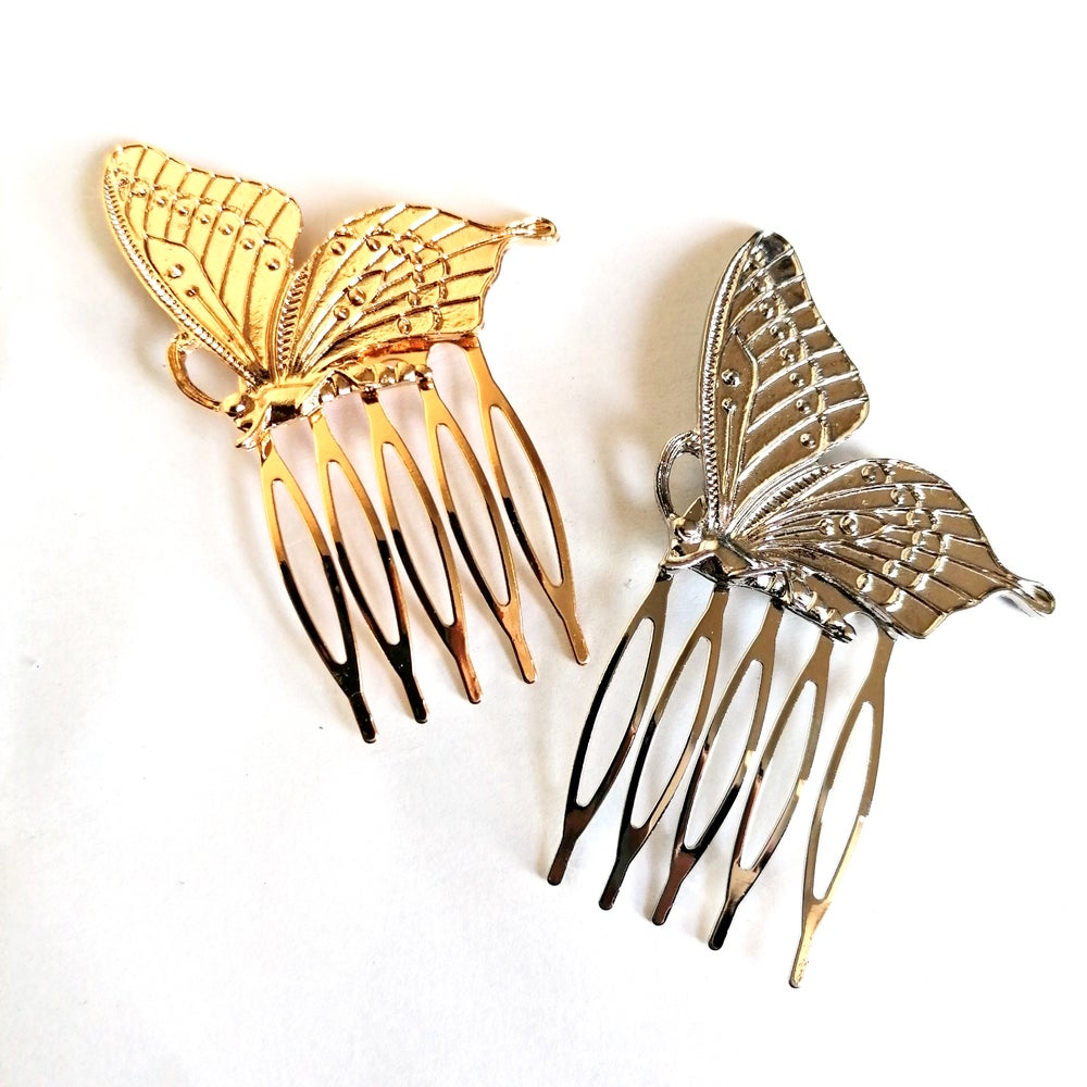 Image of Butterfly Hair Comb