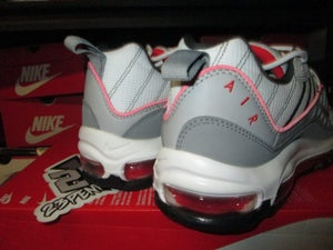"Image of Air Max 98 ""Particle Grey/Track Red"""