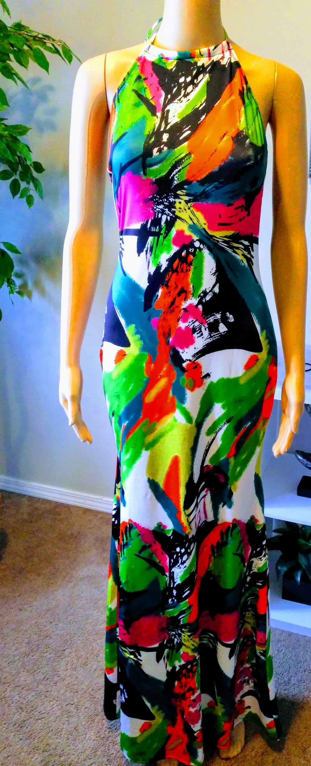 """Image of """"IN LIVING COLOR"""" DRESS"""