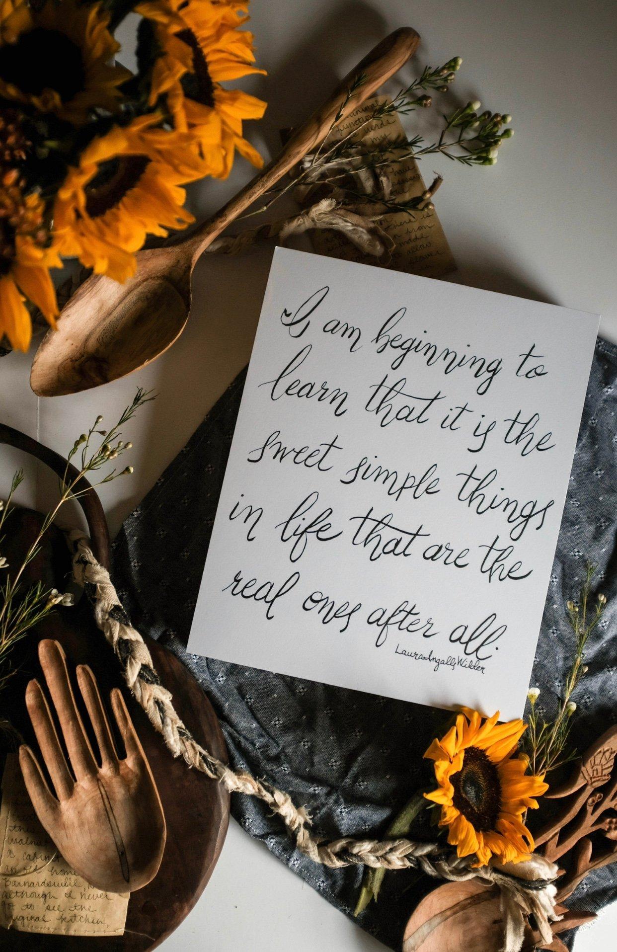 Image of Laura Ingalls Wilder Quote