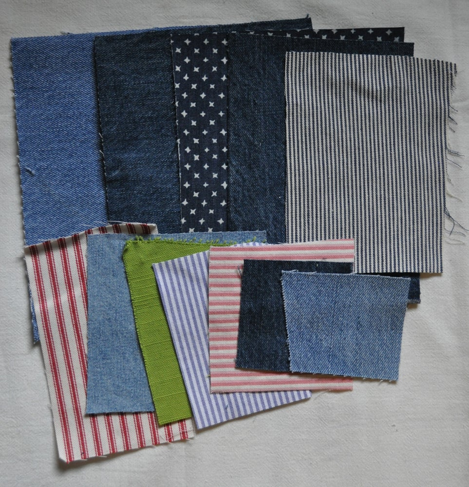 Image of Mending Fabric Sets
