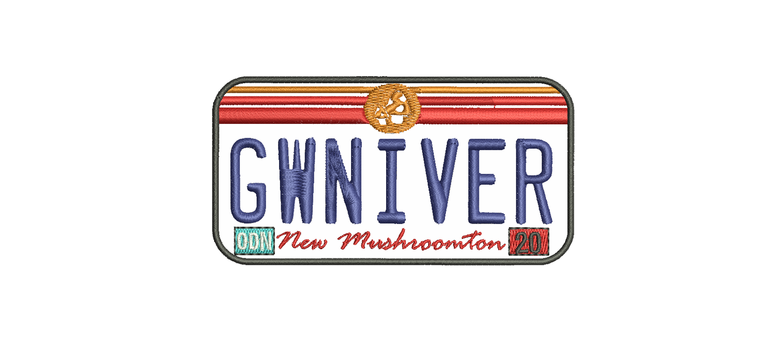 Image of GWNIVER PLATE PATCH