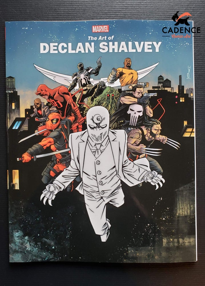 Image of Marvel Monograph: The Art of Declan Shalvey (Signed & Sketched)