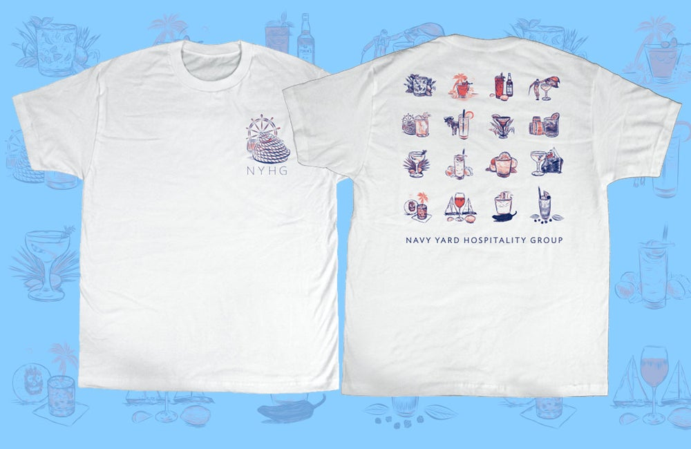 Image of NYHG Cocktail Tee