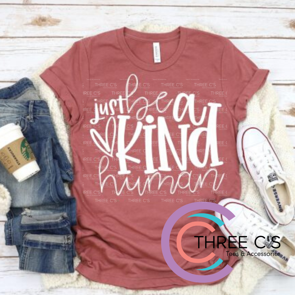 Image of Be a Kind Human Tee
