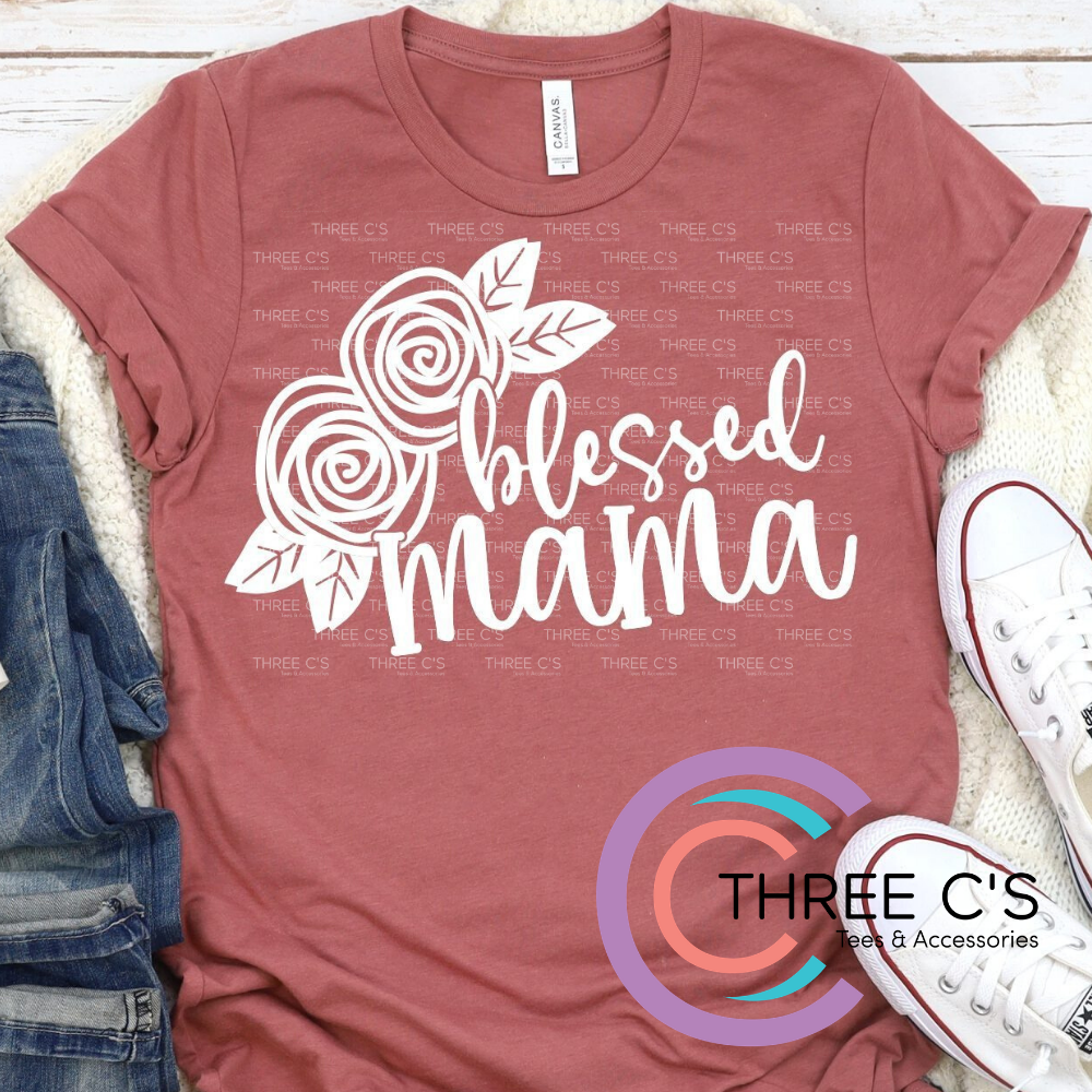 Image of  Blessed Mama Tee