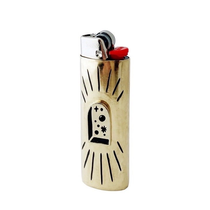 Image of Big Bang Lighter Case with Black Onyx