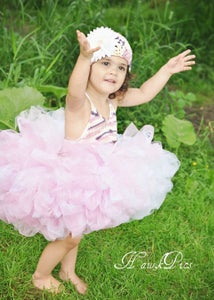 Image of OOAK Hand Knitted Halter Top Tutu