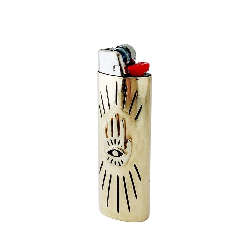 Image of Hand Eye Lighter Case
