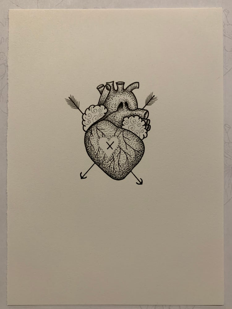 Image of Original heart #11