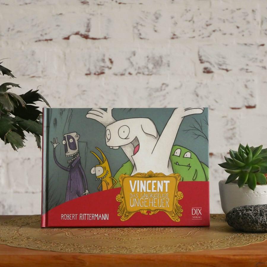 Image of Vincent. Das ungruselige Ungeheuer - Kinderbuch