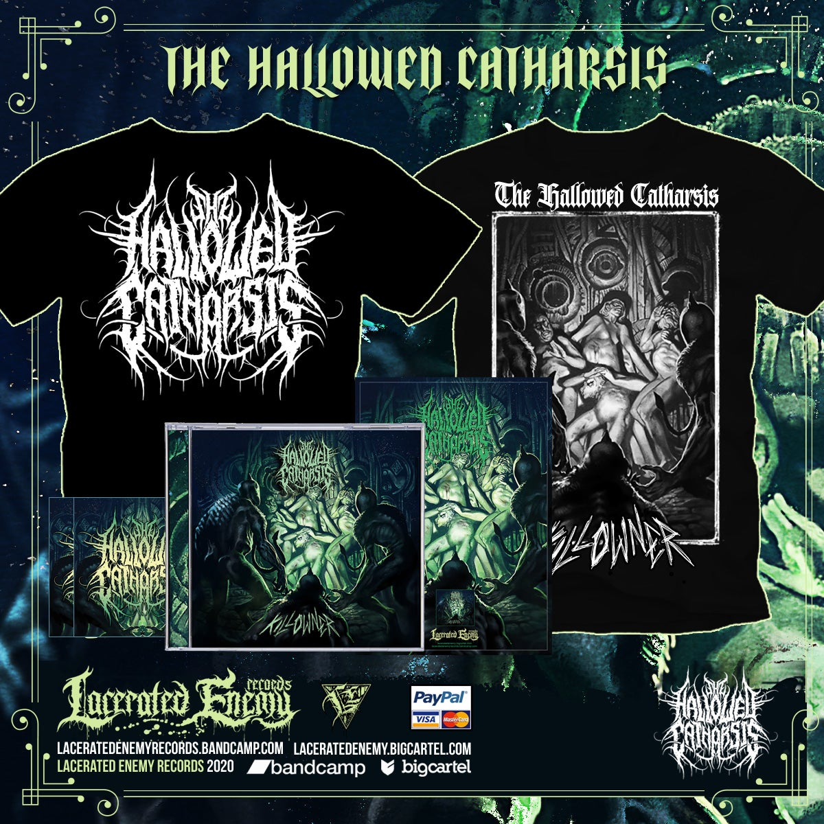 THE HALLOWED CATHARSIS - Killowner - Thsirt Bundle