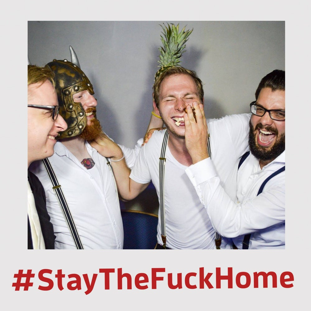 Image of #StayTheFuckHome Sale: 2 EP´s + 2 Alben