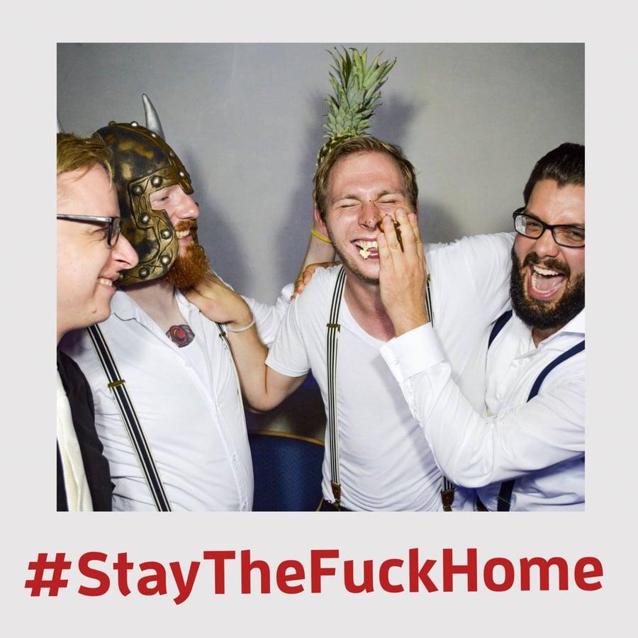 Image of #StayTheFuckHome Sale: 2 EP´s + 2 Alben