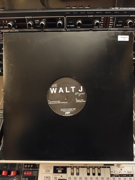 Image of The Walt J Project ‎– The Walt J Project