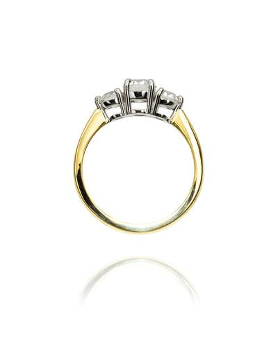THREE DIAMOND RING - 18Karat Studio+Gallery