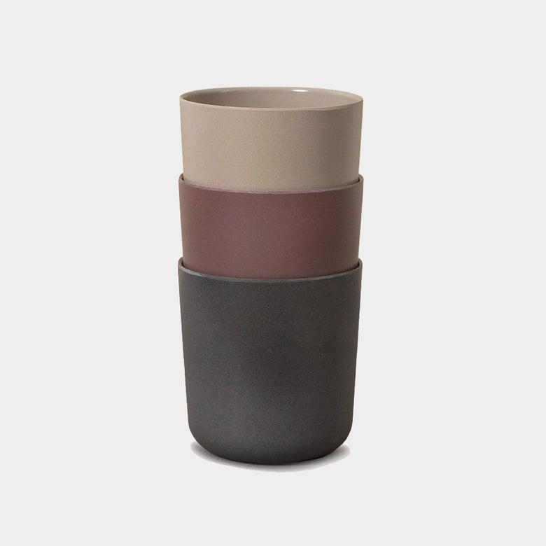 Image of Cink 3 Mugs Fog/Beet/Ocean