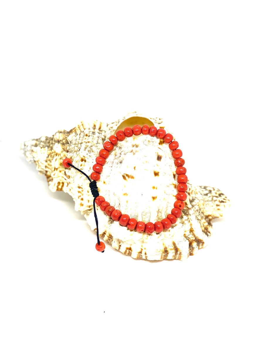 Image of Natural coral bracelet