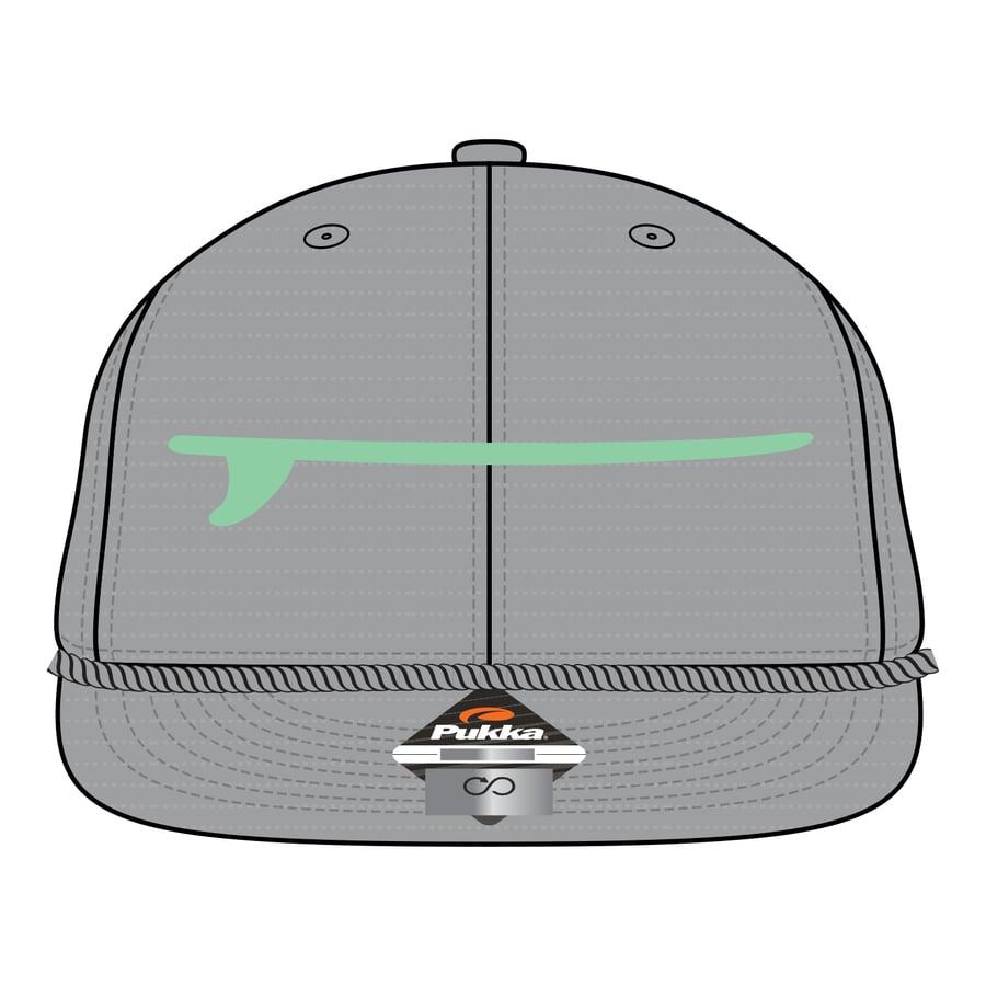 Image of Boardroom Hat Grey & Seafoam