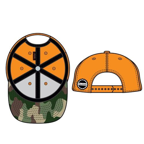 Image of Boardroom Hat Orange & Camo