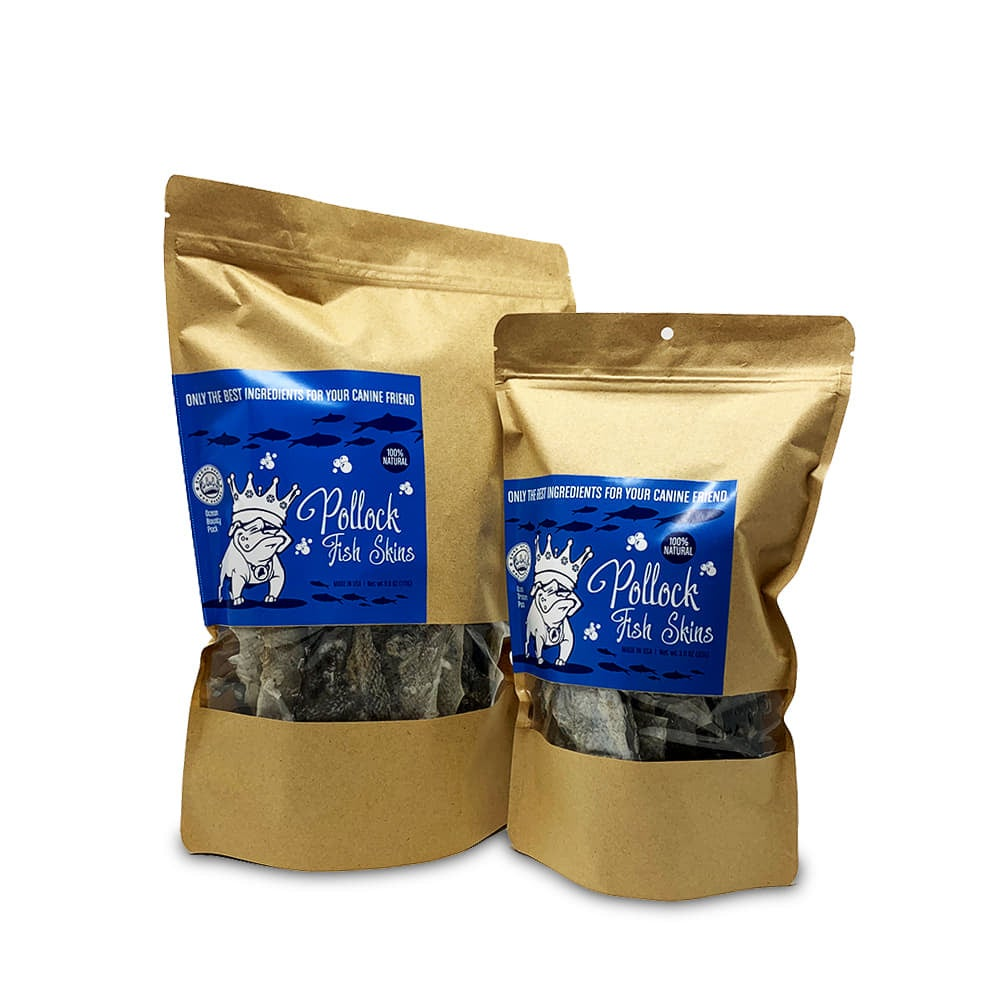Pollock Fish Skins -Made in Maine