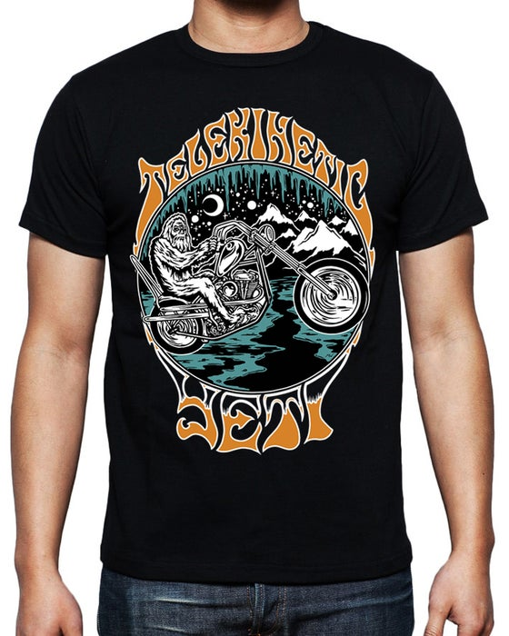 Image of Yeti Motorcycle Tshirt