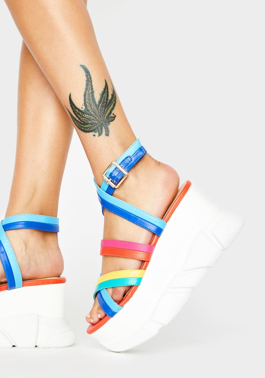 Image of Epic Wantin' More Platform Sandals