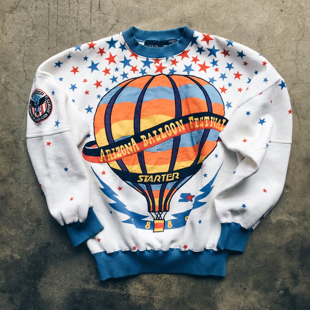 Image of Original Late 80's Starter Arizona Balloon Festival Crewneck.