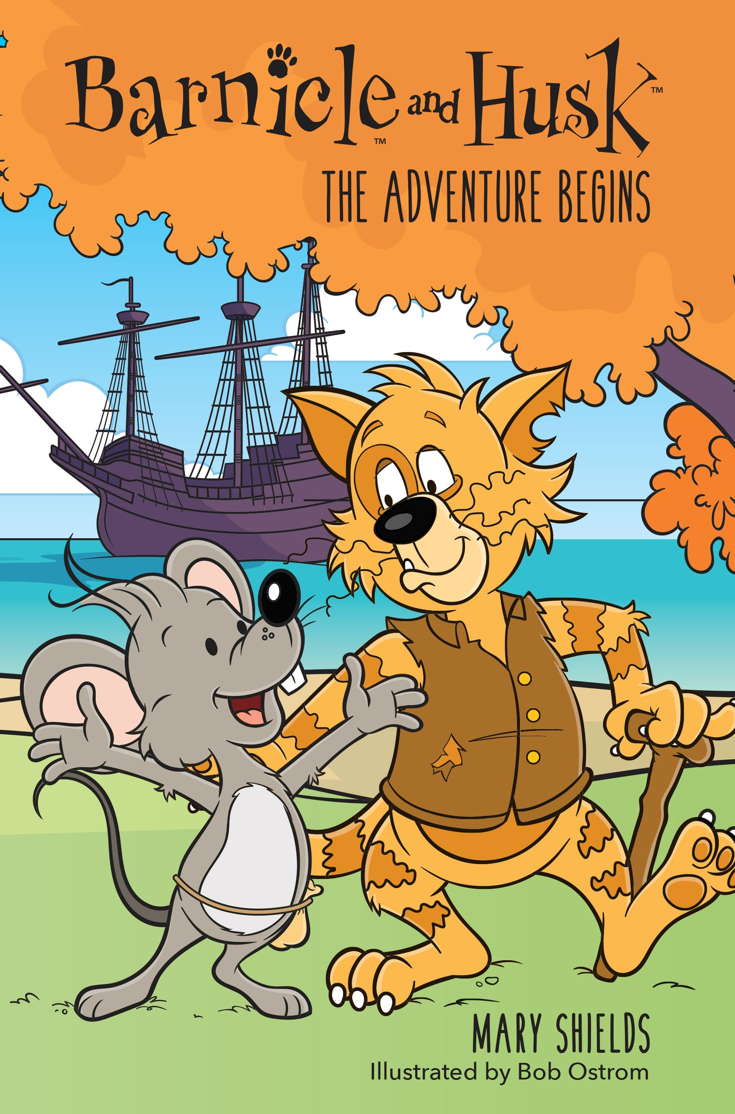 Image of Barnicle and Husk #1: The Adventure Begins, Digital Chapter Book