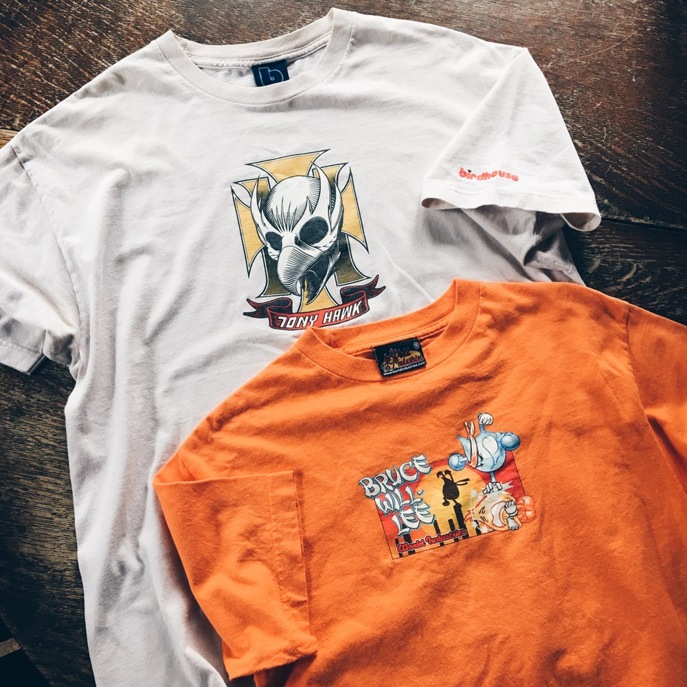 Image of 90's And Early 2000's Skate Tees.