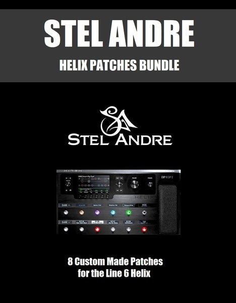 Image of Stel Andre HELIX Guitar Patches Bundle