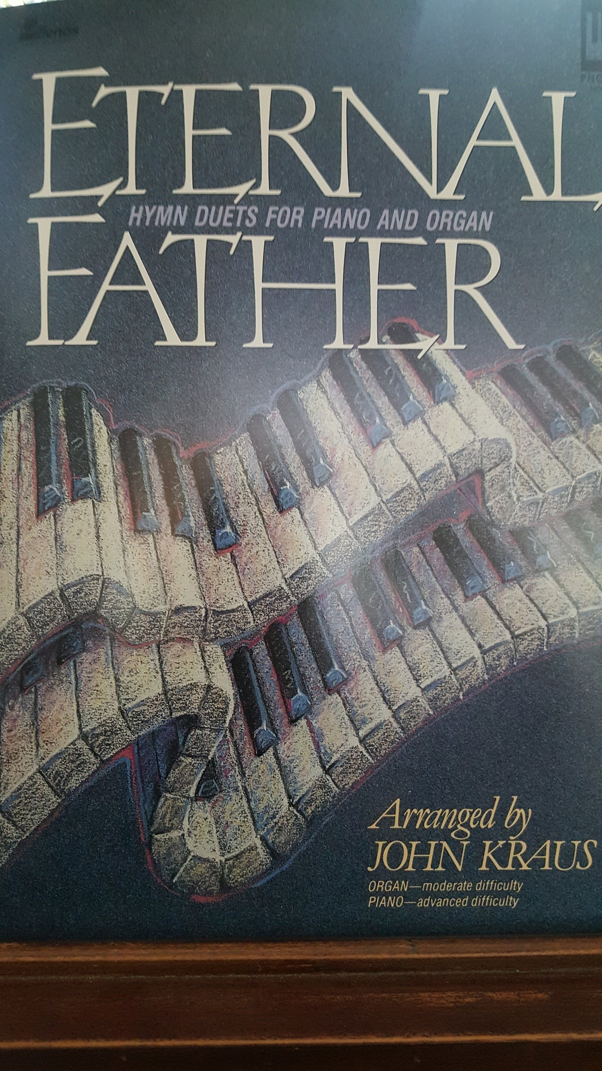 Image of Eternal Father (piano/organ duet book)