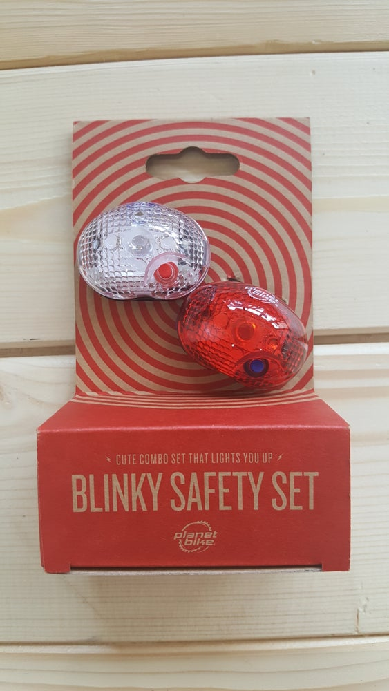 Image of Planet Bike Blinky Headlight and Taillight Set