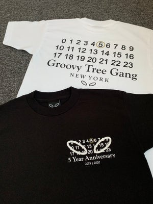Image of 5 YEAR ANNIVERSARY TEES