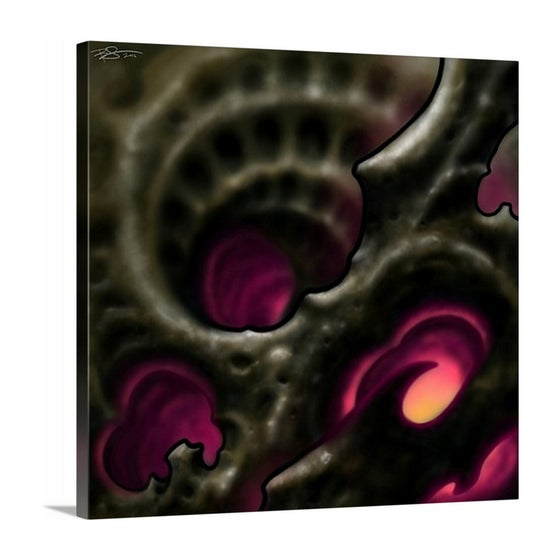 Image of Pink Glow Bio Canvas
