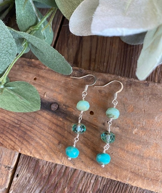 Dangles in Turquoise Earrings