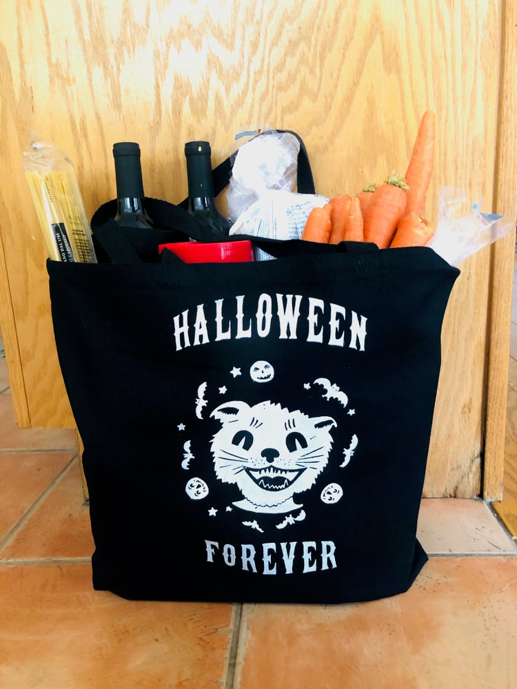Image of Halloween Forever Jumbo Tote