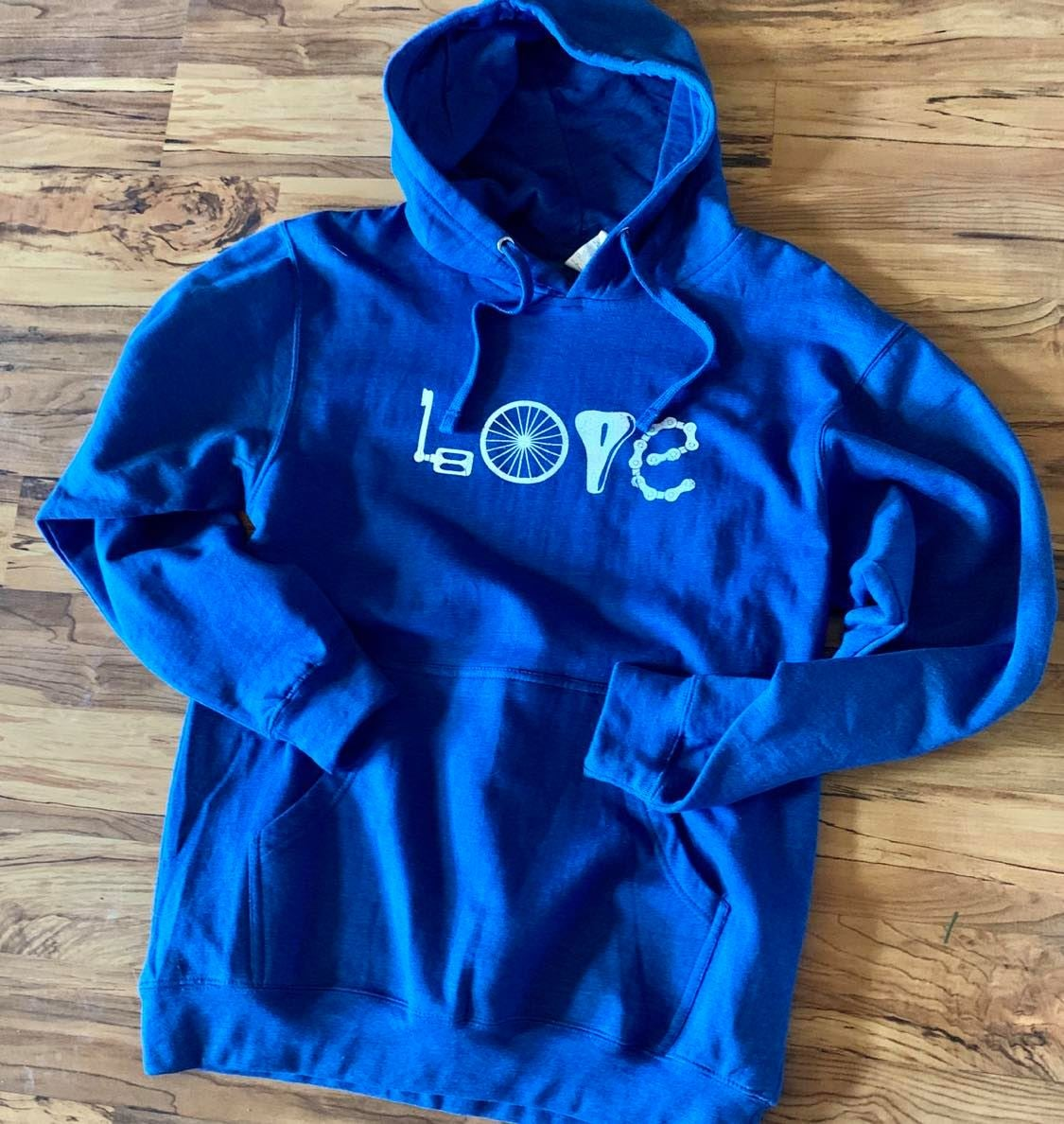 Image of Bike Love Midweight Hooded Sweatshirt