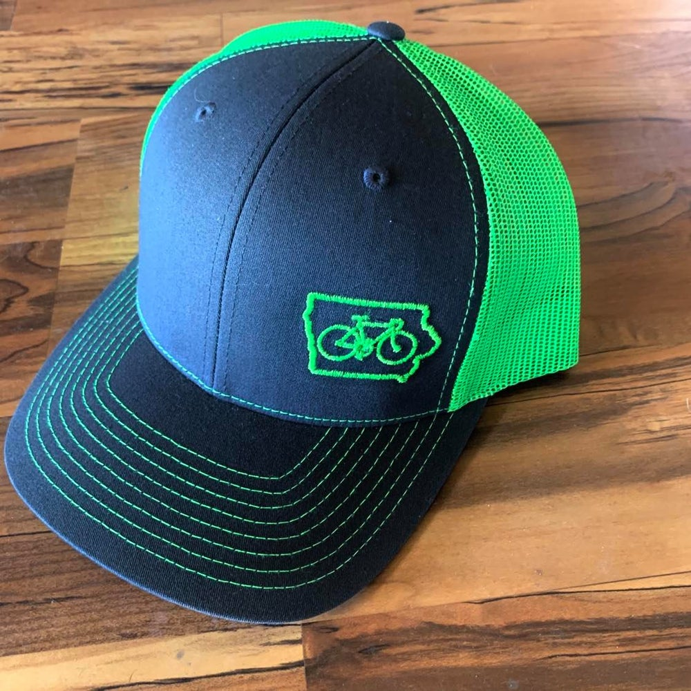 Image of Bike Iowa Snap Back Cap