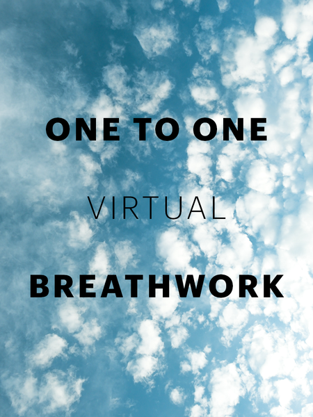 Image of ONE TO ONE VIRTUAL BREATHWORK